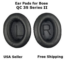 Ear Cushion Pads Pair Black for Bose QuietComfort QC 35 Series II Free Shipping