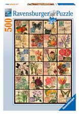 Ravensburger 14126 - Vintage Flora, 500 Teile Puzzle