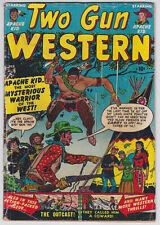 Two Gun Kid #6 G+ 2.5 Atlas Marvel Apache Kid Joe Maneely Art 1951!