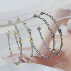 Alexis Bittar Pave Diamond Knotted Hoop Earrings