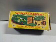 Matchbox New Model Racing Car Transporter M-6