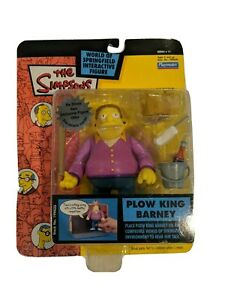 The Simpson World of Springfield Interactive Figure, Plow King Barn, Series #11