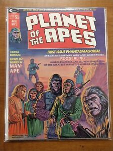 Planet of the Apes #1 Vol 1 (1974)  Curtis Magazine Ploog Clean
