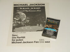 Michael Jackson - MC - Cassette + WERBE INSERT - Farewell My Summer Love