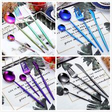 NEW 4PCs Stainless Steel Western Cutlery Set Dinnerware Tableware Cutlery ILC