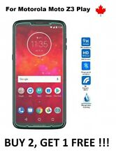 For Motorola Moto Z3 Play - Tempered Glass 9h Hard Screen Protector Cover