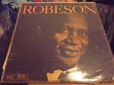 Paul Robeson – Robeson (Verve Records – MG V-4044)(1960 LP)(VG CONDITION)