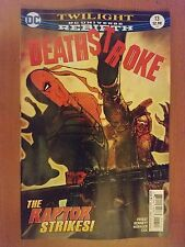 Dc Universe Rebirth Deathstroke # 13 (1st Print)