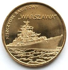 Poland 2 zloty 2013 Warszawa Guided-missile Destroyer UNC (#341)