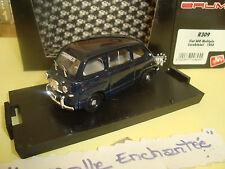 IN MINIATURA FIAT 600 MULTIPLA 1956 CARABINIERI 1/43° NUOVA IN SCATOLA BRUMM