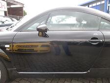 Tür links Audi TT 8N Coupe BRILLIANTSCHWARZ LY9B schwarz