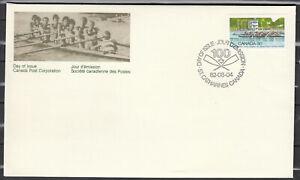 """Canada FDC Scott #968 Rowing Aug 4 1982 """"Royal Canadian Henley Regatta"""""""
