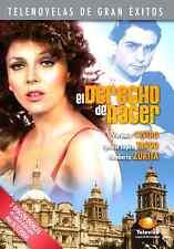 EL DERECHO DE NACER * Novela * New Sealed 3-DVD Boxset * Spanish Telenovela 1981