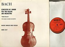 MMO 307 CLASSIC CHAMBER ORCHESTRA concerto for 2 violins (double) LP PS EX/EX