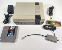 Nintendo NES Console Super Mario Controller Power Supply & RF Switch New 72 Pin