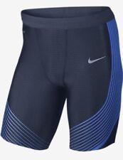 Nike velocidad potencia correr para hombres Pantalones Cortos mitad Tights 822556-410 L