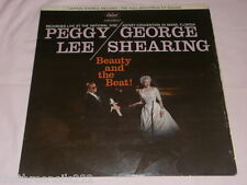 VINYL LP - PEGGY LEE & GEORGE SHEARING - BEAUTY AND THE BEAT! - ST1219