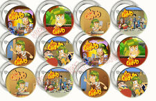EL CHAVO Party Supplies Pocoyó 12 PINS Buttons FAVORS Kiko Chilindrina Fiesta NW