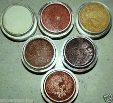 MINERAL MAKEUP~5~SWEETSCENTS~BARE~EYESHADOW~LOOSE POWDER~MICA~BROWN~BRONZE~MAUVE