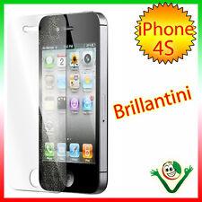 Película protección pantalla Brillo para Apple iPhone 4 4s brillo brillante