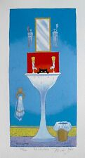 "TONI GOFFE ""THAT SINKING FEELING"" Hand Signed Limited Edition Lithograph"