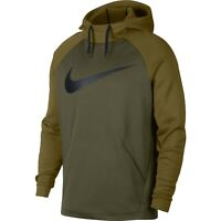NIKE Men's $55 Therma Swoosh Training Hoodie Pullover Jacket NEW 931991-395