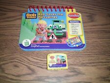 Leap Frog My First Leap Pad Bob saves the Porcupines preschool book & Cartridge
