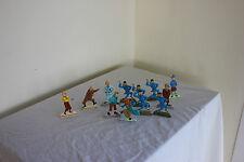 12 figurines Tintin HERGE 2010