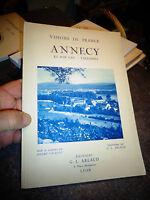 VISIONS DE FRANCE ANNECY ET SON LAC , TALLOIRES André Chagny 1934