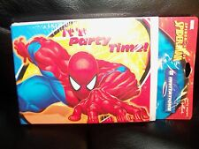 Marvel SPIDERMAN Party Invitations by Hallmark - New LAST ONE
