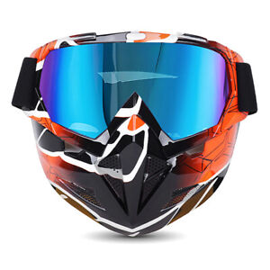 New retro motorcycle windproof glasses off-road racing helmet ride mask goggles