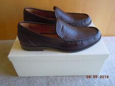 COACH dress Loafer, NIB, Size 9.5M  (Euro 43), Bally- Brown / Mahogany leather