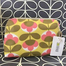 Genuine ORLA KIELY Cosmetic Purse Make Up Bag NEW with Tag