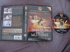 Shaolin contre Wu Tong de Gordon Liu avec Adam Cheng, DVD, Kung-Fu