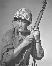 JOHN WAYNE WW2 SANDS OF IWO JIMA 1949 Portrait 8x10 PHOTO RE76