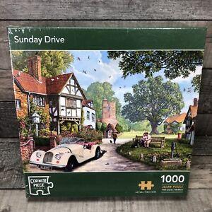 Sunday Drive 1000 Piece Jigsaw Puzzle Corner Piece Puzzles-Brand New & Sealed
