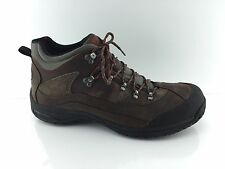 Dunham By New Balance Men's  Brown Leather Hiking Boots 16 B