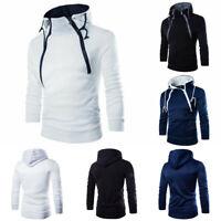 Coat Sweater Fit Hoodies Warm Sweatshirt Winter Jacket Slim Hooded Men's Outwear