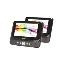 """Sylvania Sdvd8737A 7"""" Dual-Screen Dvd Player"""