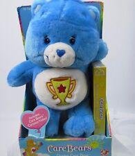 Care Bear Champ 2003 Play Along Vhs Cartoon Video Rare New Stuffed Blue Plush