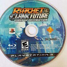 Ratchet & Clank Future Tools of Destruction (PS3) NO CASE NO ART EXCELLENT CONDI