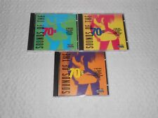 SOUNDS OF THE SEVENTIES ( 3 CD's / 41 TRACKS )