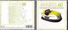 CD ANNEES 60 17T BARDOT/HALLYDAY/GALL/CLAUDE FRANCOIS/POLNAREFF/MORENO/BLONDO