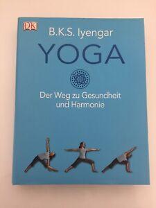 BKS Iyengar Yoga Der Weg Zur Gesundheit Übungsbuch