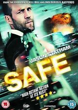 Safe 2012 Danny Hoch, Catherine Chan, Jason Statham, NEW AND SEALED UK R2 DVD
