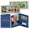DONALD TRUMP 45th President Genuine U.S. $2 Bill in 8x10 Collectors Display