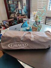 New listing Graco Travel Lite Crib With Stages used good condition- Gray - 3 level stage