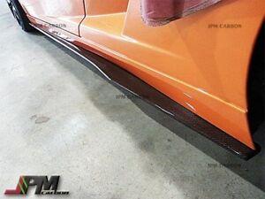 DP Carbon Fiber Side Skirt Extensions for Lamborghini Gallardo LP550 LP560 LP570