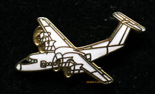 DEHAVILLAND DASH DHC-7 HAT LAPEL PIN TIE TAC CANADA AIRPLANE WING WOW