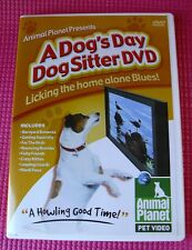 Dog Sitter Pet Video DVD - Animal Planet Presents A Dog's Day Home Alone 2007